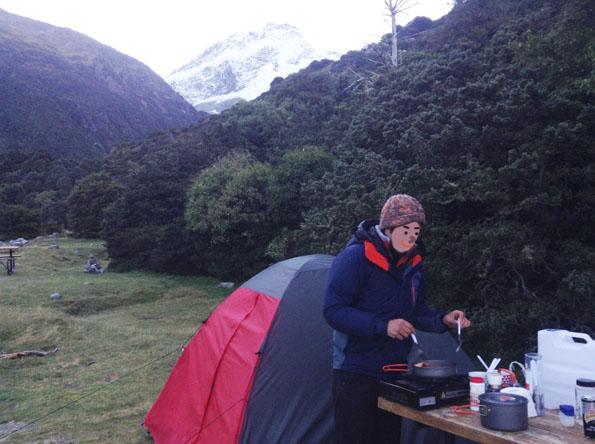 ニュージーランドキャンプ旅行