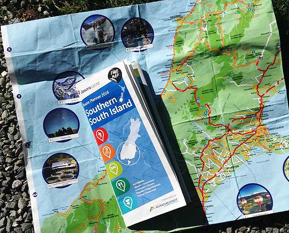 ニュージーランドの地図・無料