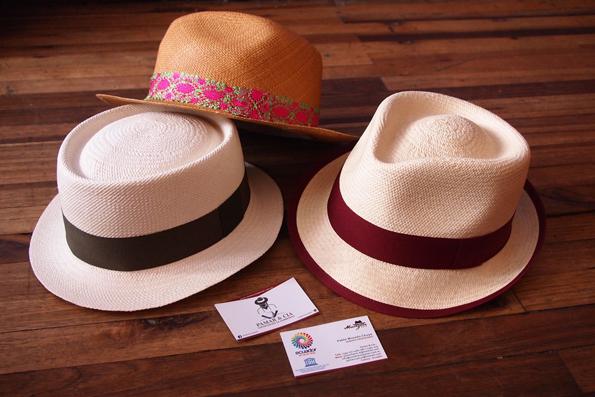 ダメージで変形する前のパナマ帽