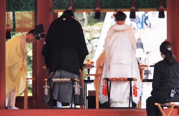 鶴岡八幡宮の結婚式