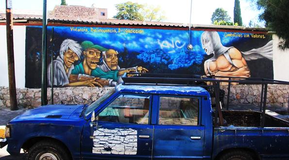 メキシコ・グアナファトのミイラ博物館