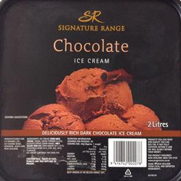 ニュージーランドのチョコレートアイスクリーム