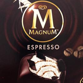 アイスクリーム・マグナム・エスプレッソ
