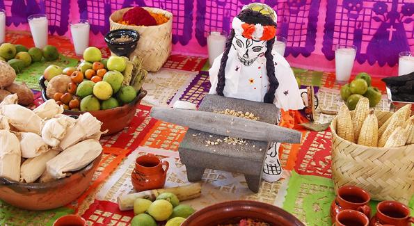 メキシコの死者の日・デイオブザデッド