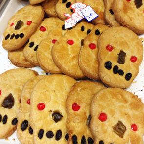 メキシコ・死者の日・ガイコツクッキー