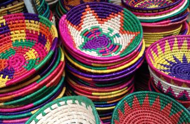 メキシコシティのお土産・カゴ