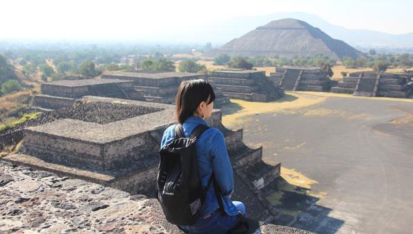 メキシコの世界遺産テオティワカン遺跡