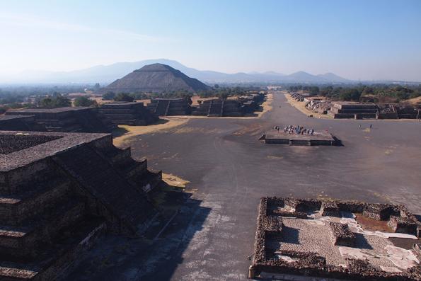 メキシコの世界遺産「テオティワカン遺跡」