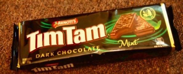 TimTam dark chocolate mint(ティムタムダークチョコレートミント)