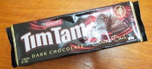 TimTam dark chocolate(ティムタムダークチョコレート)