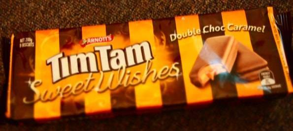 TimTam double choco caramel(ティムタムダブルチョコキャラメル)