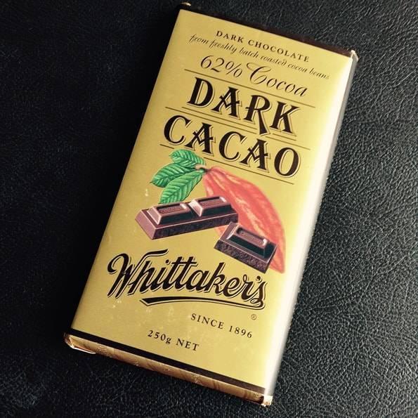 Whittaker's (ウィッタカーズ)ダークカカオ(62% Cocoa Dark Cacao)