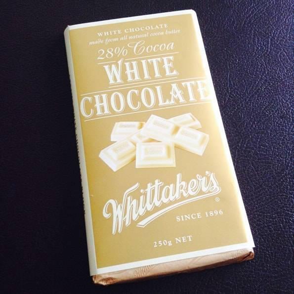 Whittaker's (ウィッタカーズ)ホワイトチョコレート