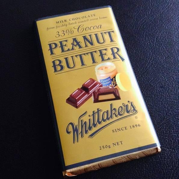 Whittaker's (ウィッタカーズ)ピーナッツブバター(33% Cocoa Peanut Butter)