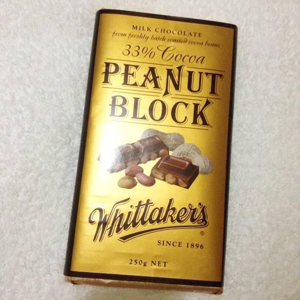 Whittaker's (ウィッタカーズ)ピーナッツブロック(33% Cocoa Peanut Block)