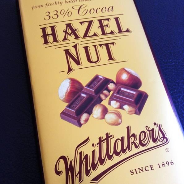 Whittaker's (ウィッタカーズ)ヘーゼルナッツ(33% Cocoa Hazel Nut)