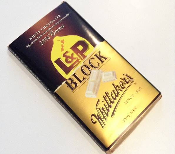 L&P ホワイトチョコレート(White Chocolate 28% Cocoa L&P Block)Whittaker's (ウィッタカーズ)