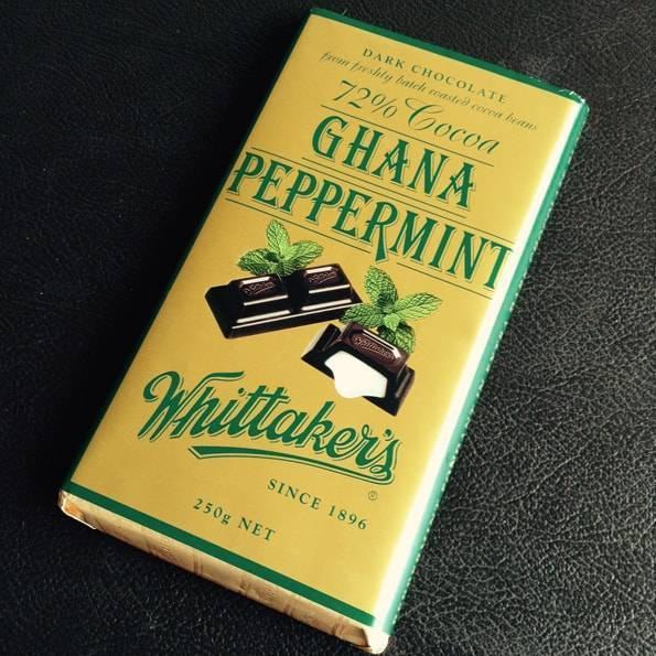 Whittaker's (ウィッタカーズ)ガーナ ペパーミント(72% Cocoa Ghana Peppermint)