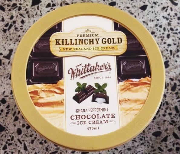 キリンチーゴールドアイスクリームWhittaker'sガーナ ペパーミント チョコレート アイスクリーム