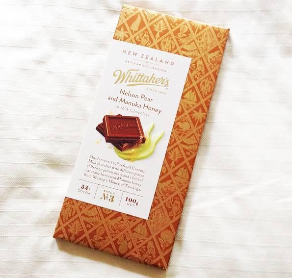 ネルソンペアーandマヌカハニー ミルクチョコレートWhittaker's (ウィッタカーズ)アーティシャン