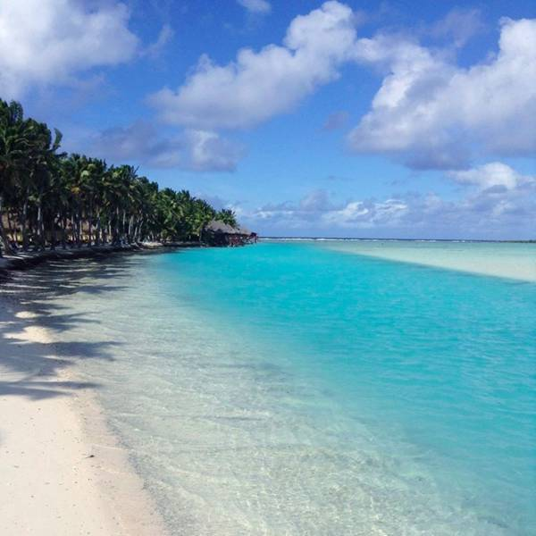 クック諸島のアイツタキ