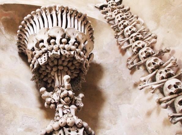 チェコのセドレツ納骨堂