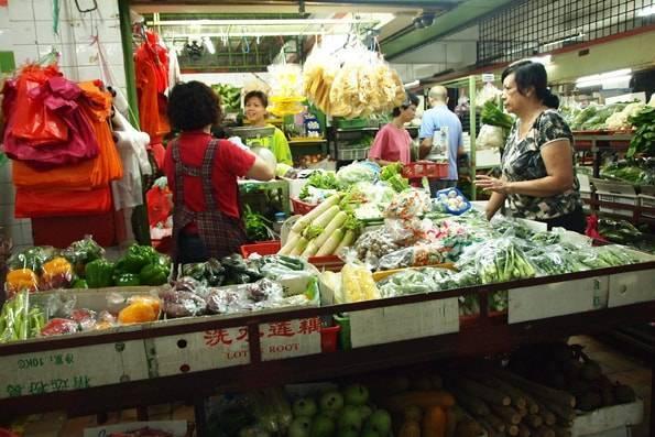 TTDI ウエットマーケット(Taman Tun Dr. Ismail Wet Market)
