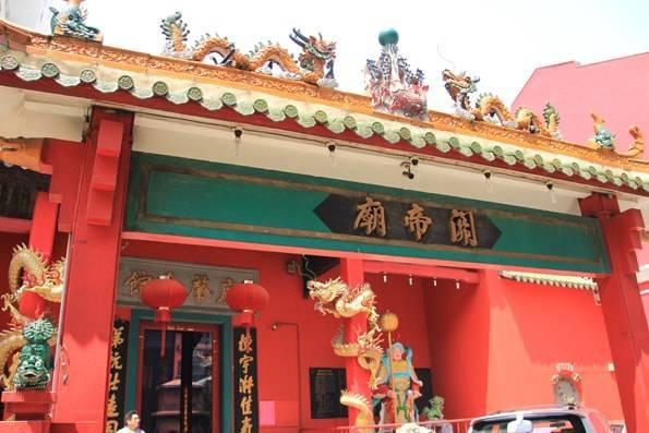 クアラルンプール・中国系の寺・関帝廟