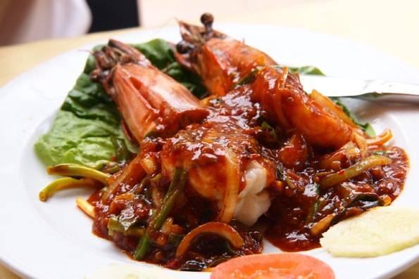 ランカウイのレストラン オーキッド・リア・シーフード