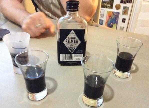 サルミアッキのお酒(salmari)
