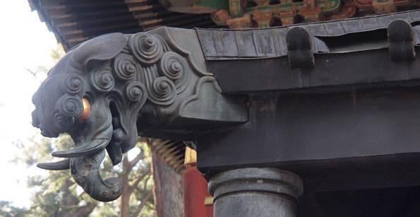 日光東照宮の想像の象