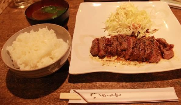 カフェレストラン「ふきのとう」のさくらステーキ
