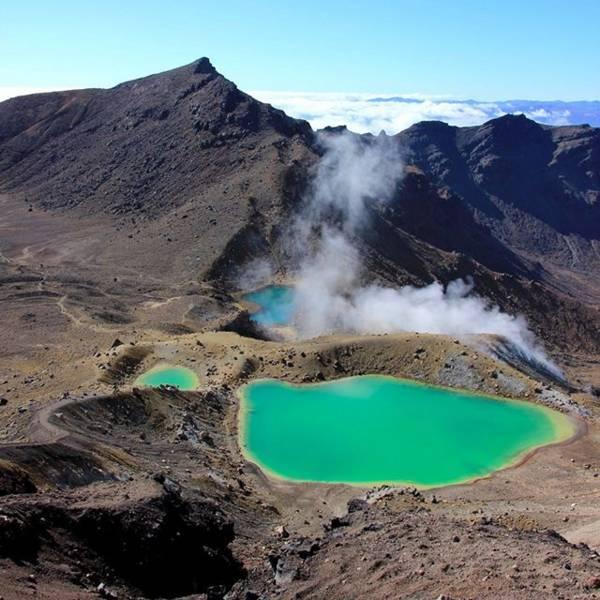 トンガリロ国立公園 (Tongariro National Park)