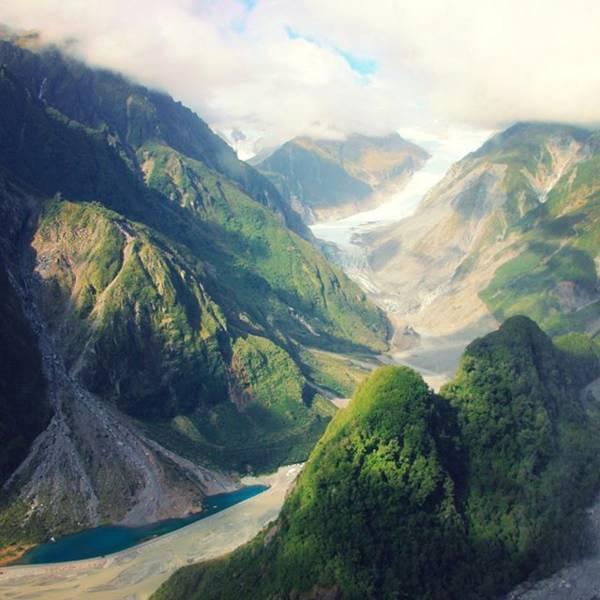 フォックス氷河 (FoxGlacier)・ヘリハイク