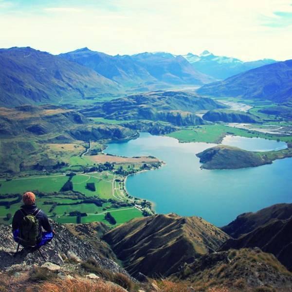 ニュージーランド・ワナカのロイズピーク