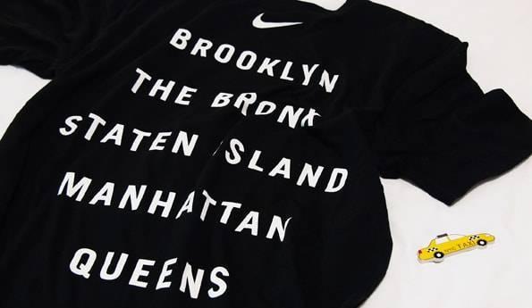 ナイキ・ニューヨーク限定Tシャツ