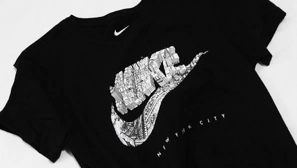 ニューヨーク限定ナイキTシャツ