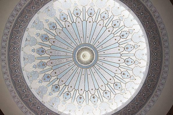 イスラム美術館・ドーム天井