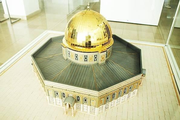 イスラム美術館・モスクの模型
