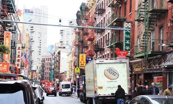 ニューヨークのチャイナタウン