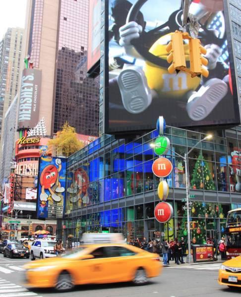 M&M's World New York (エムアンドエムズ)