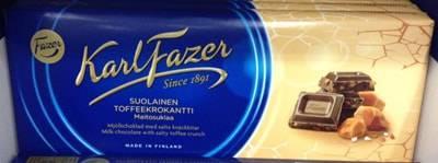 ファッツェル(Fazer)・ソルティートフィークランチ ミルクチョコレート