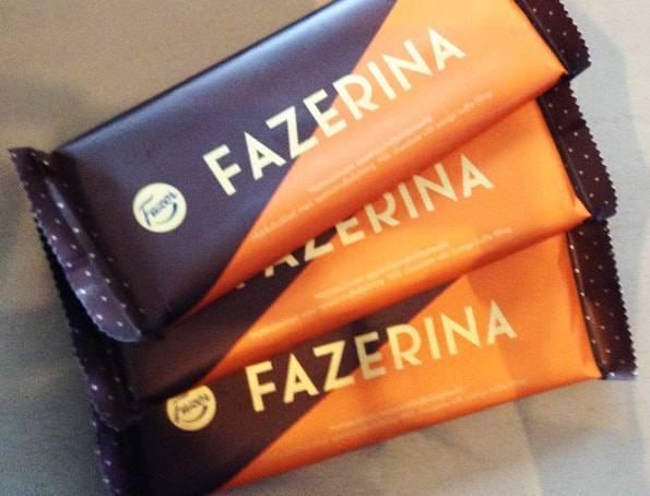 ファッツエリナ(FAZERINA) ミルクチョコレート-オレンジトリュフ(Orange Truffle Filling)