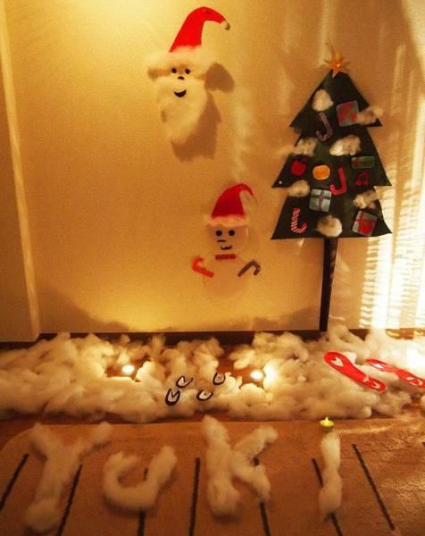 彼氏が彼女にする手作りのクリスマスサプライズ