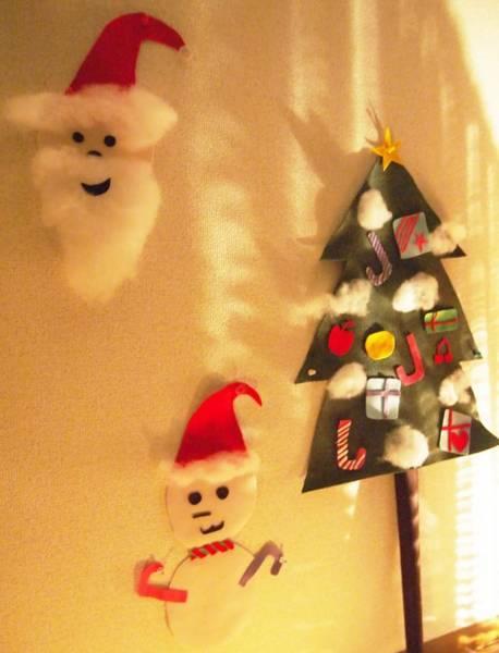 手作りのクリスマスサプライズ演出