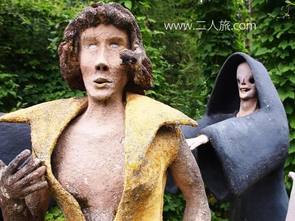 フィンランドの不思議な彫刻