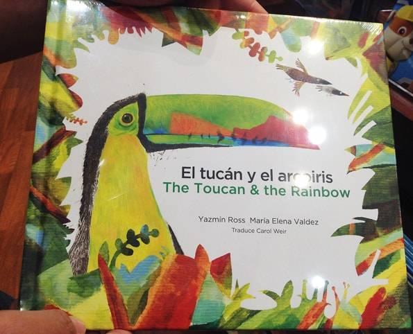 スペイン語のトゥカンの絵本