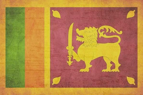 スリランカの旗