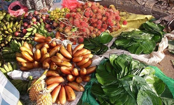 スリランカのフルーツ