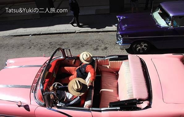 キューバ・ハバナのクラシックカー